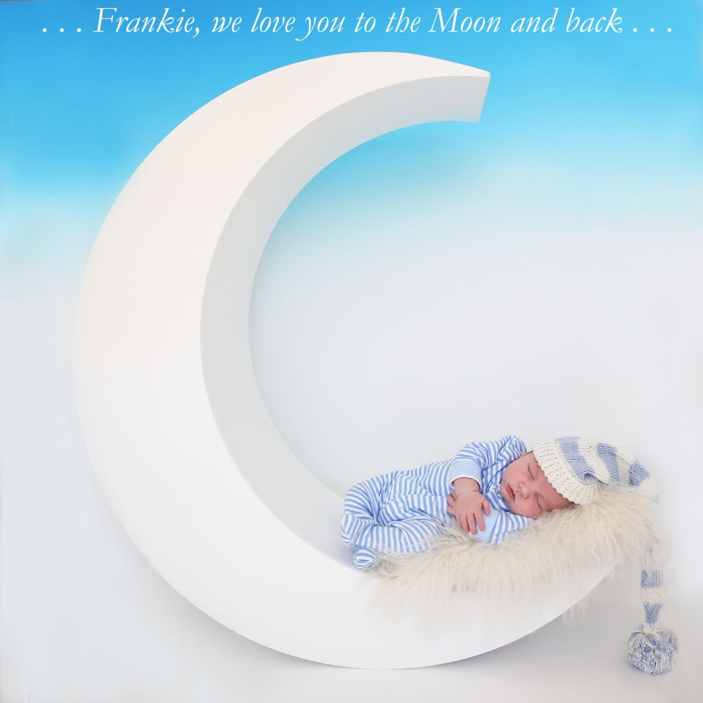 Baby Frankie Moonshot by Lesley Thomas Photography!